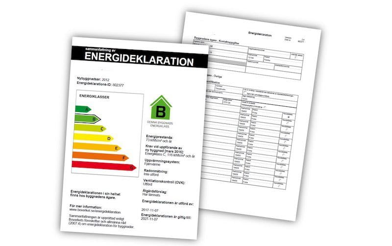 Energideklaration: Boka och jämför priser hos BraBesiktning.se